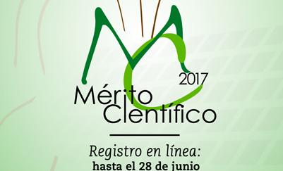 Reconocimiento al Mérito Científico 2017