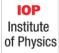 Descripción: Institute of Physics (IOP)