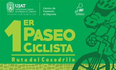 """1er Paseo Ciclista """"Ruta del Cocodrillo"""""""