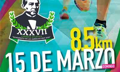 Carrera atlética, Semanas de Juárez 2020