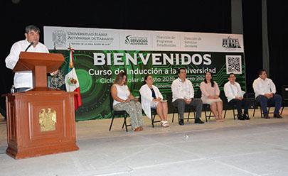 Inauguran en la UJAT curso de inducción y ciclo escolar 2019-2020