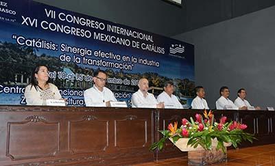 Inicia en la UJAT Congreso Internacional de Catálisis