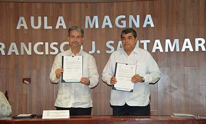 La UJAT y el INEJ de Nicaragua estrechan cooperación educativa y cultural